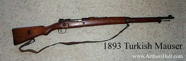 1893 Turkish Mauser